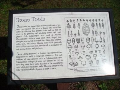 Stone Tools Marker Photo, Click for full size