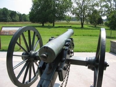 12-pdr Napoleon Gun image. Click for full size.