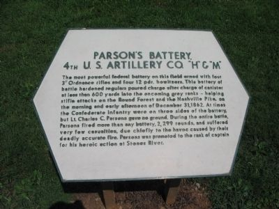 Parson's Battery Marker image. Click for full size.