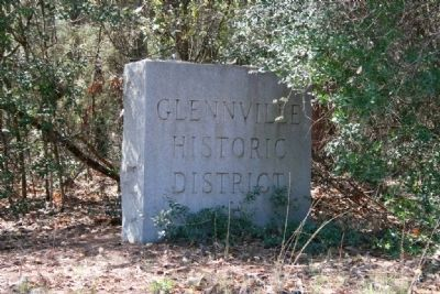 Glennville Historic District Marker image. Click for full size.