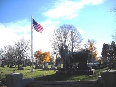 Grave of President Chester A. Arthur image. Click for full size.