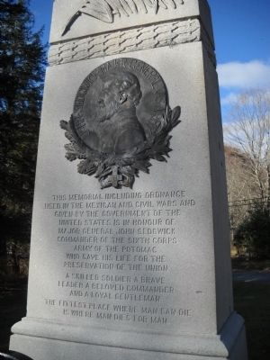 Major General John Sedgwick Marker Photo, Click for full size