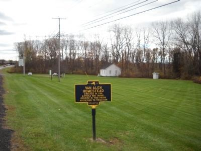 Marker in Kinderhook image. Click for full size.