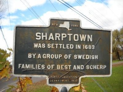 Sharptown Marker image. Click for full size.