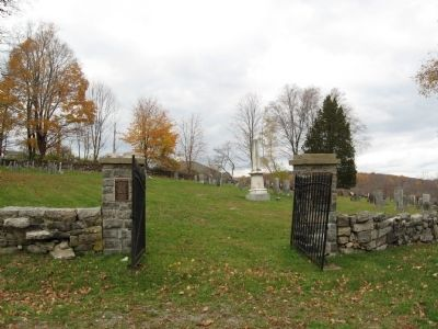 Gilead Cemetery Gate image. Click for full size.