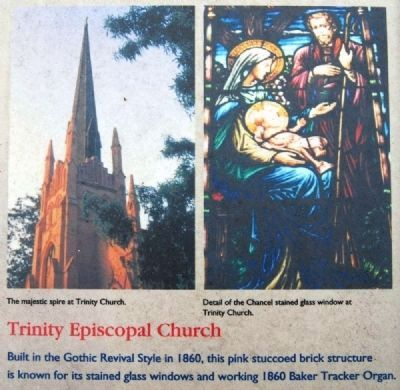Abbeville County Marker -<br>Trinity Episcopal Church image. Click for full size.