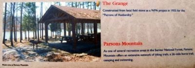 Abbeville County Marker -<br>Parsons Mountain image. Click for full size.