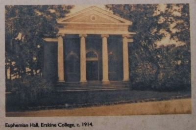 Euphemian Hall, Erskine College, c. 1914 Photo, Click for full size