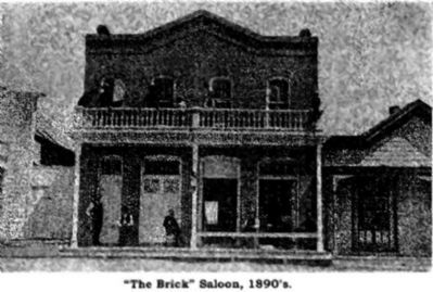 The Brick Saloon image. Click for full size.