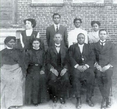 Harbison College President Rev. C.M. Young image. Click for full size.
