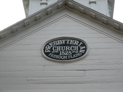 Historic Freedom Plains Church image. Click for full size.