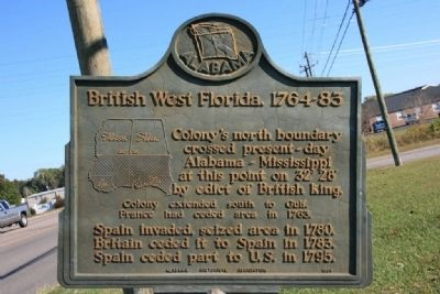 British West Florida, 1764-83 Marker image. Click for full size.