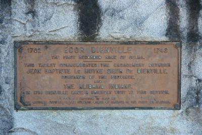 Ecor Bienville Marker image. Click for full size.