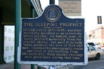 The Sleeping Prophet Marker image. Click for full size.