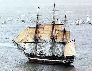 USS Constitution image. Click for full size.
