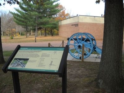 Marker in Monmouth Battlefield State Park image. Click for full size.