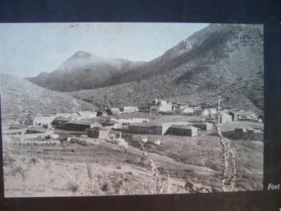 Fort Bowie 1886 image. Click for full size.