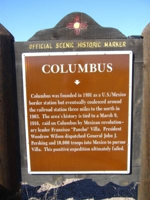 Columbus Marker image. Click for full size.