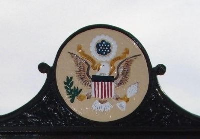 Top of The Dunham House Marker image. Click for full size.