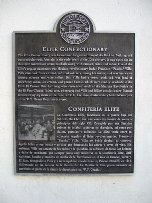 Elite Confectionary Marker image. Click for full size.
