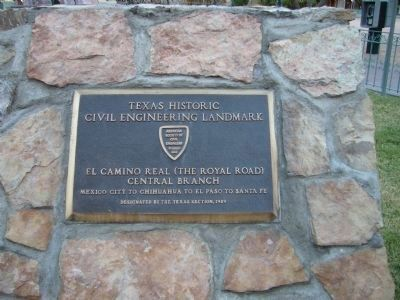 Texas Historic Civil Engineering Landmark Plaque image. Click for full size.