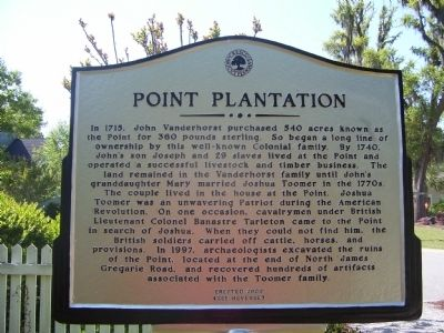Point Plantation image. Click for full size.