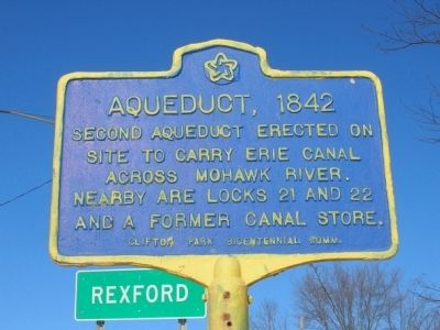 Aqueduct, 1842 Marker image. Click for full size.