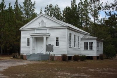 Speedwell Methodist Church with Marker image. Click for full size.