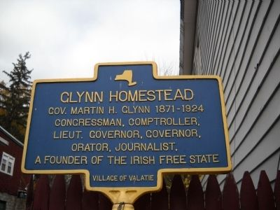 Glynn Homestead Marker image. Click for full size.