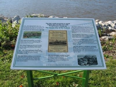 The Queen City of the Hudson Marker image. Click for full size.