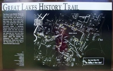 Great Lakes History Trail Marker image. Click for full size.