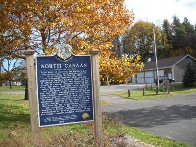 North Canaan Marker image. Click for full size.
