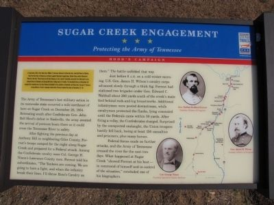 Sugar Creek Engagement Marker image. Click for full size.