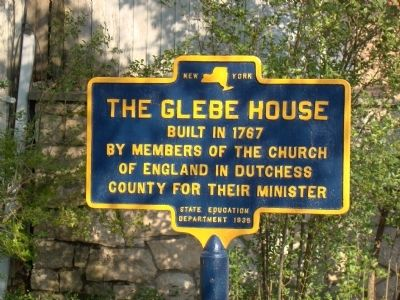 The Glebe House Marker image. Click for full size.