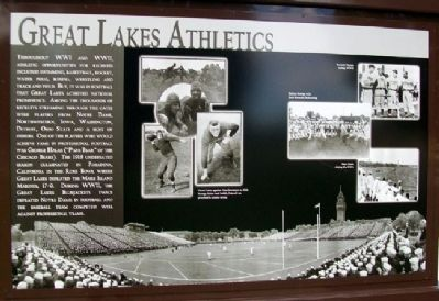 Great Lakes Athletics Marker image. Click for full size.