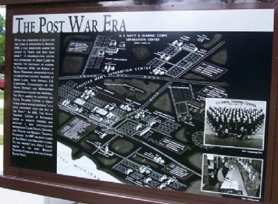 The Post War Era Marker image. Click for full size.