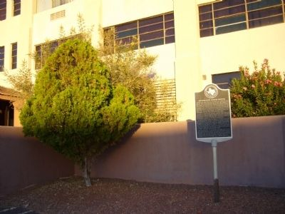 Southwestern General Hospital Marker image. Click for full size.