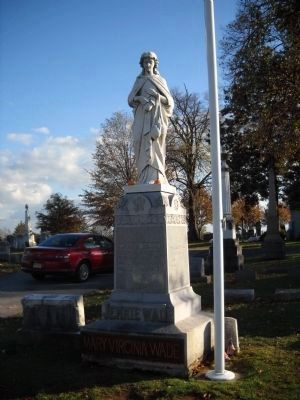 Mary Virginia Wade Marker image. Click for full size.