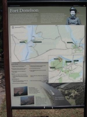 Fort Donelson Marker image. Click for full size.