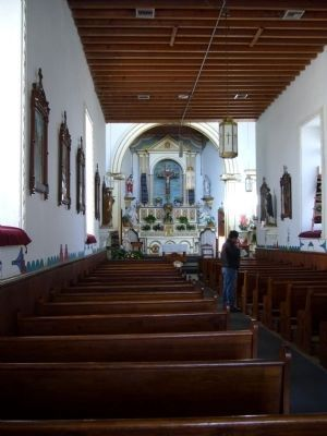 Corpus Christi de la Ysleta Del Sur Mission image. Click for full size.