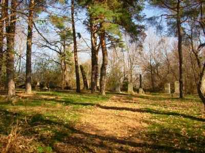 Dodges Corners Cemetery image. Click for full size.