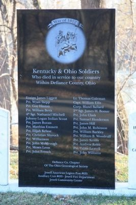 Kentucky & Ohio Soldiers Memorial image. Click for full size.