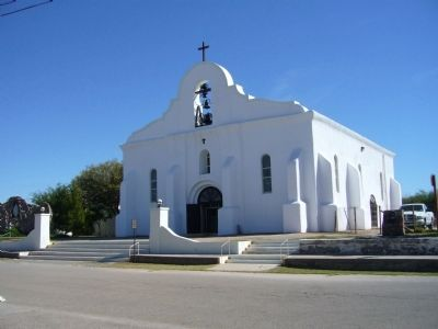 San Elizario Chapel image. Click for full size.