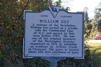 William Gee Marker image. Click for full size.