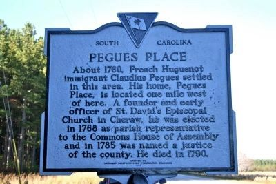 Pegues Place Marker image. Click for full size.