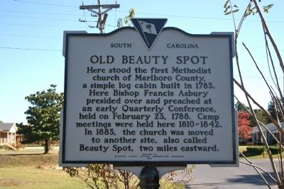 Old Beauty Spot Marker image. Click for full size.