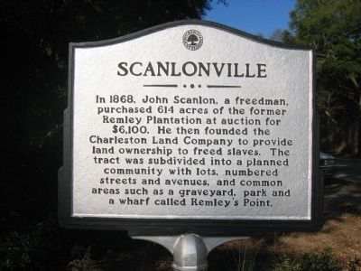 Scanlonville Marker image. Click for full size.