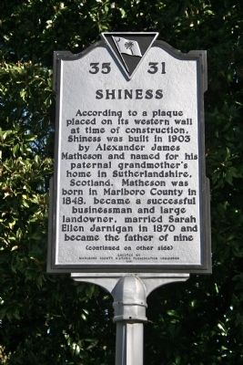 Shiness Marker (front) image. Click for full size.