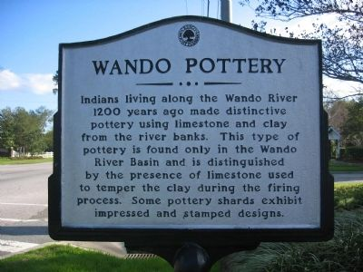 Wando Pottery Marker image. Click for full size.