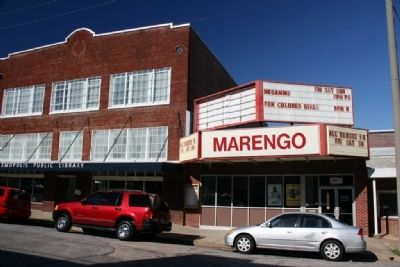 The Marengo Theater image. Click for full size.